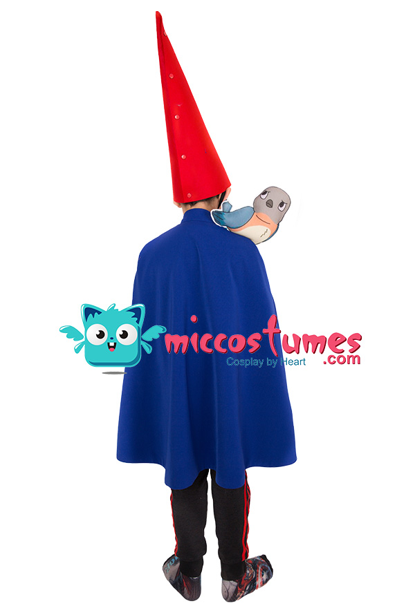 Child Over the Garden Wall Wirt Cosplay Costume Cloak for ...