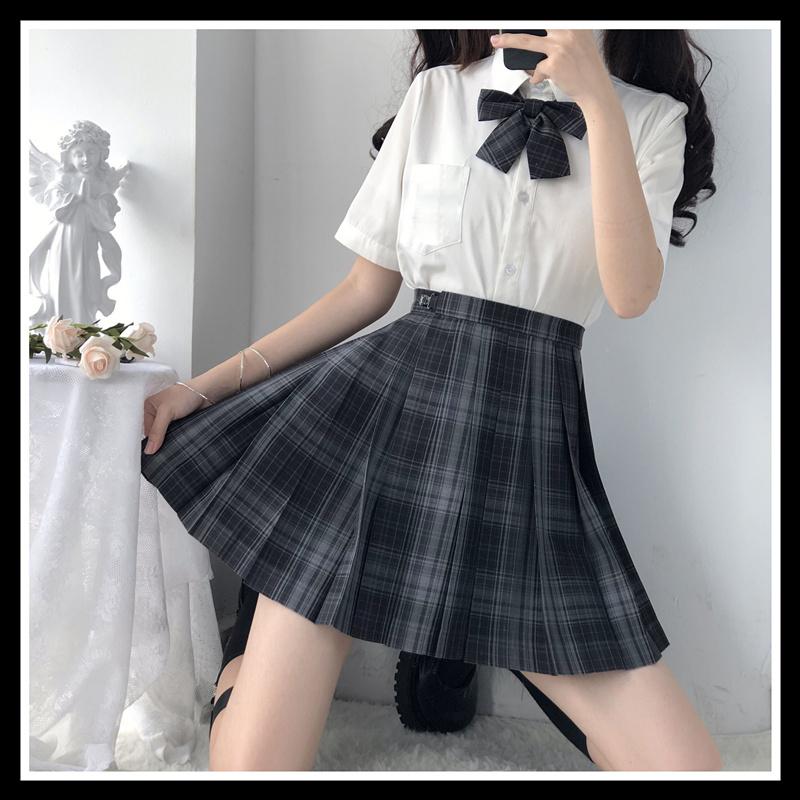 British High School Student Girls School Uniform Women