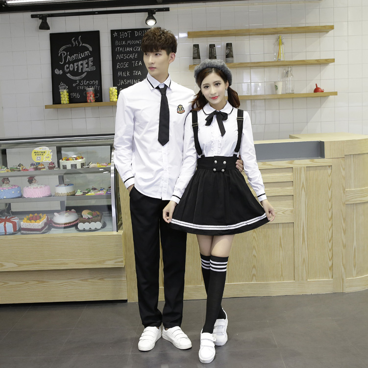 2PCS High-end JK Uniform For Girls Japanese Korea Tops